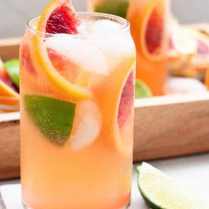 Blood orange Kentucky Mule | A Little Food