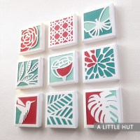 Spring paper quilt collection