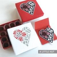 Garden heart gift set