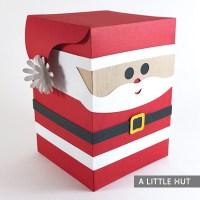 Santa Box Peep gift box