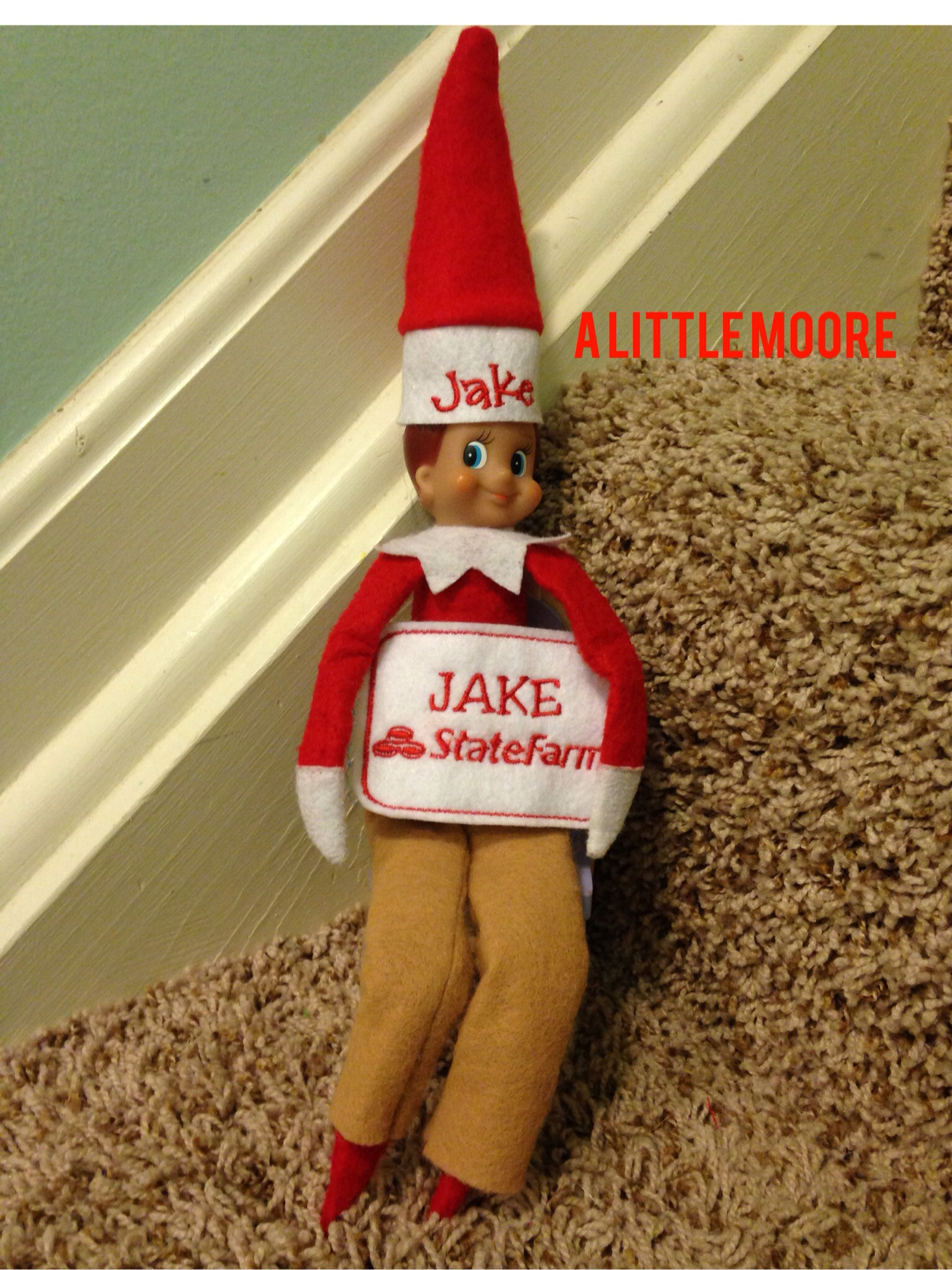 It is an image of Jake From State Farm Name Tag Printable pertaining to history