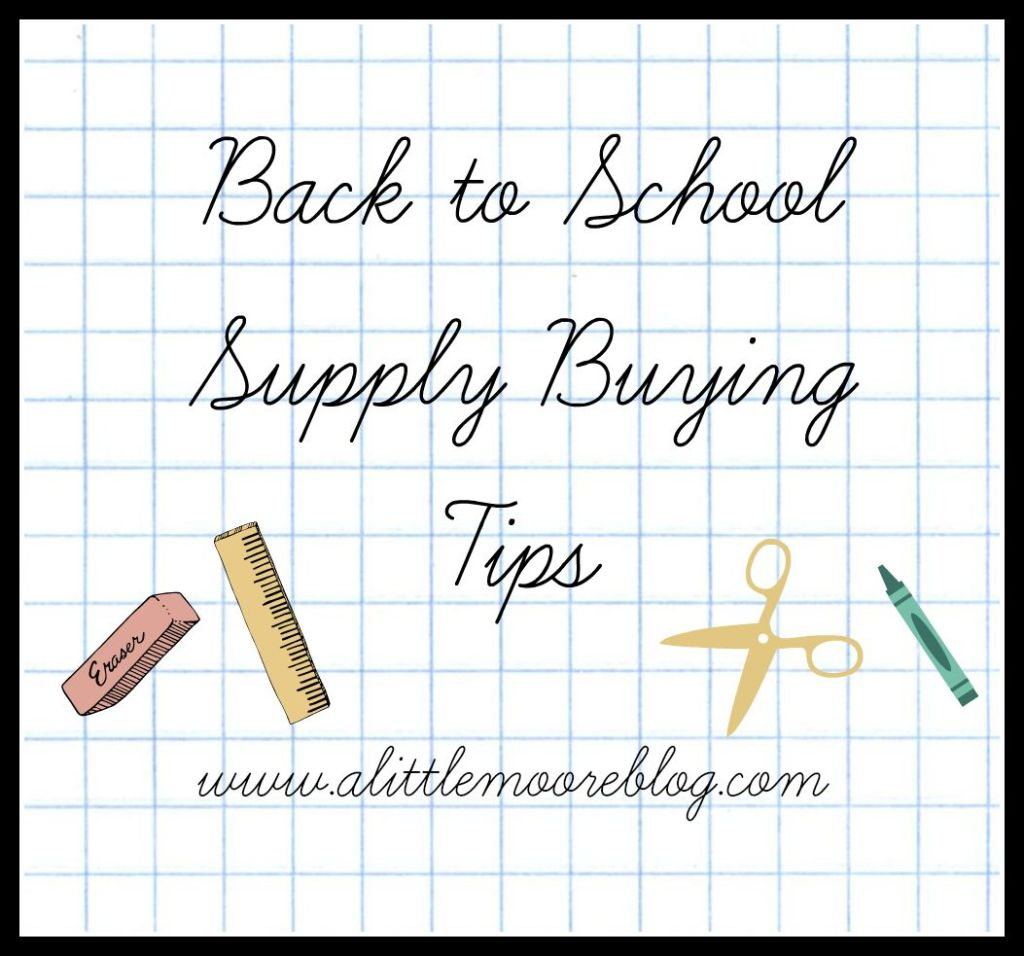 Back to School Buying Tips