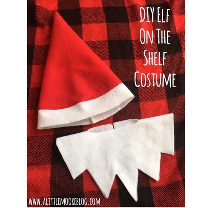 Diy Elf On The Shelf Costume A Little Moore