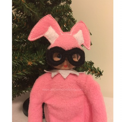 A Christmas Story Elf Bunny Suit