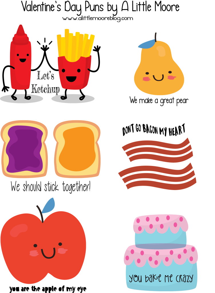 Free Printable Valentines Day Punny