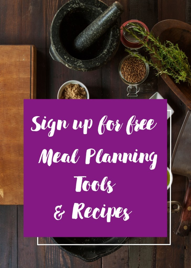 Meal Planning tools and recipes by Winnipeg Registered Dietitians