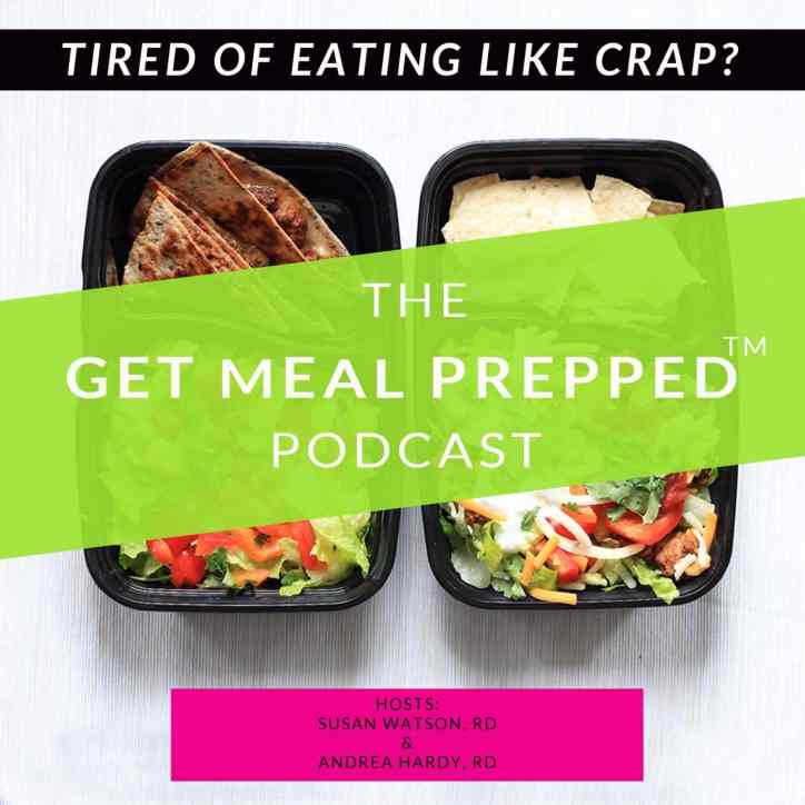 Meal planning podcast by dietitian Susan Watson