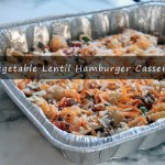 Winnipeg Nutrition coach recipe Vegetable Lentil Hamburger Casserole
