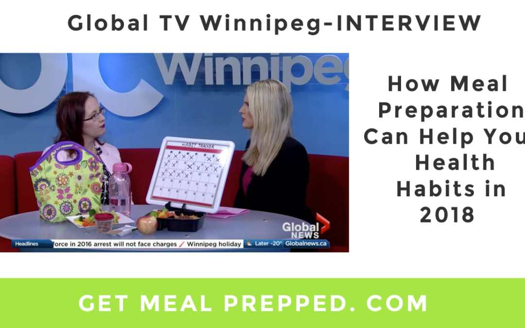 How Meal Preparation Can Help Your Health Habits (Global TV