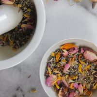 Calming Spring Flower Tea