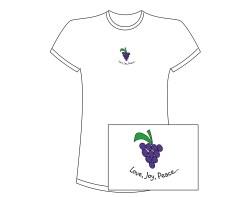 Women's Fruit of the Spirit Short Sleeve Tee – White