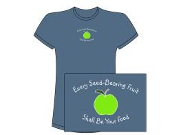 Women's Green Apple Short Sleeve Tee – Indigo