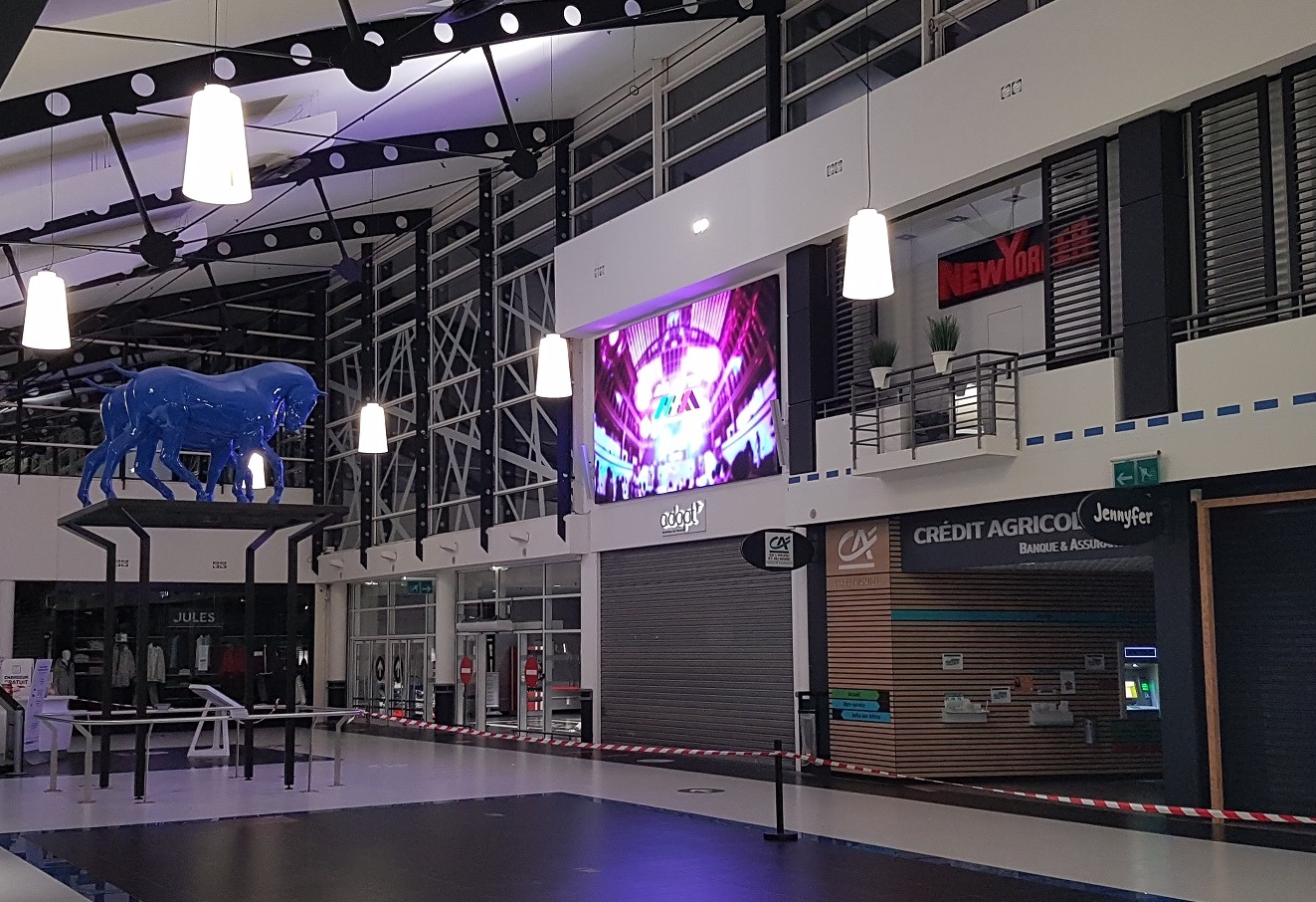 Mur LED - Galerie Espace Anjou