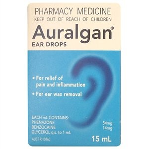 bottle of Auralgan Ear Drops 15ml USD $20.30