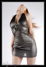 "Alixia Busch - ""Alixia"" - Black Dress - Make-up self"