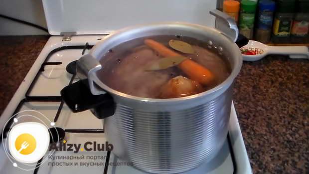 приготовление холодца в скороварке