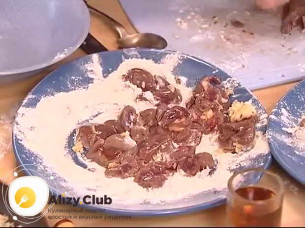 کلیه های گوشت گاو در دستور غذا پخت و پز ترش