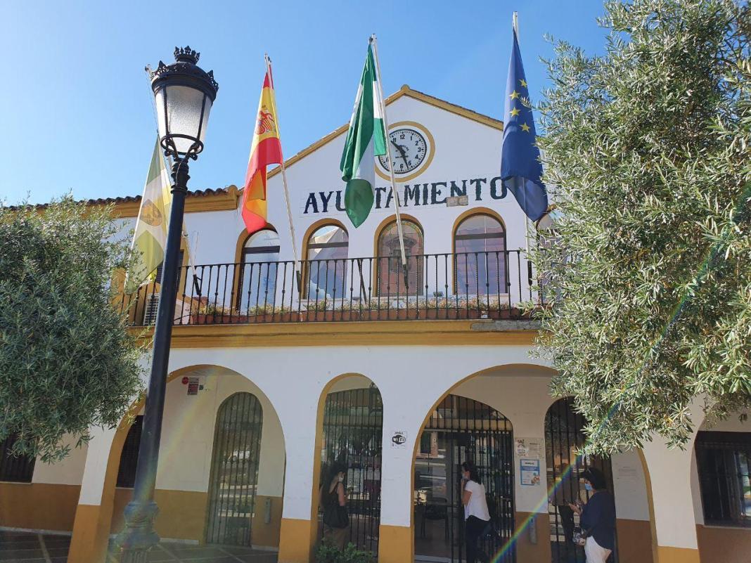 Casa consistorial de Bormujos. Foto de Aljarafe Digital.