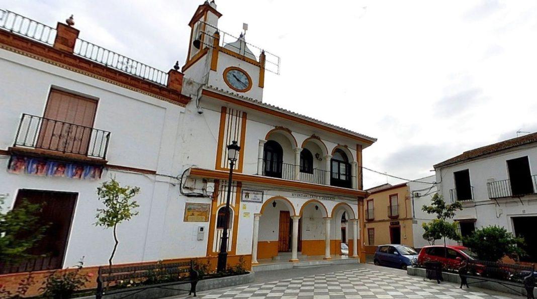 Plaza del Cabildo de Aznalcázar.
