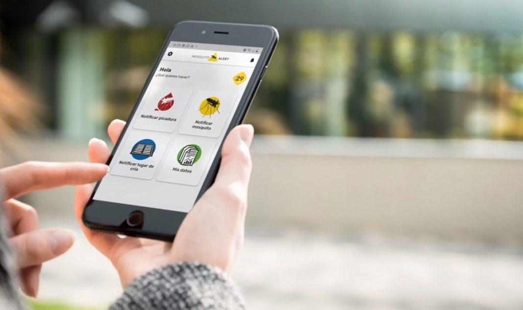 La app de Mosquito Alert está disponible para iOS y Android.