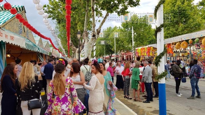 Imagen de archivo de la Feria de Sanlúcar la Mayor. Ayuntamiento de Sanlúcar la Mayor