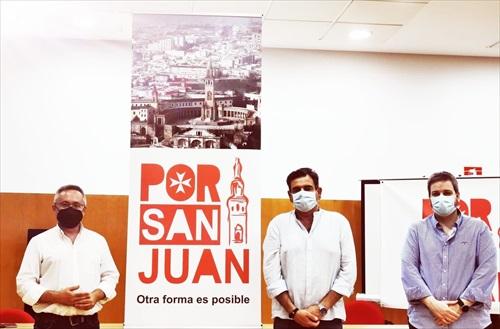 Presentación del nuevo partido local de San Juan
