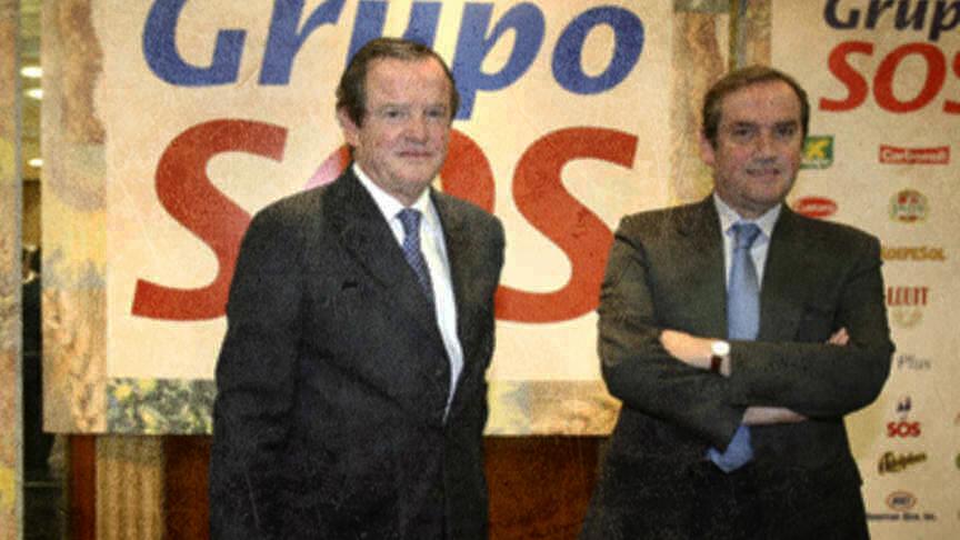 Los hermanos Jesús y Jaime Salazar.
