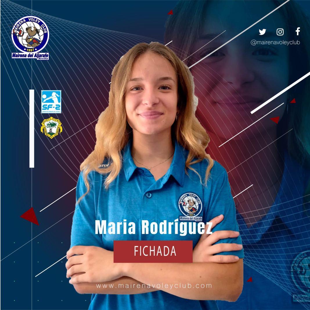 María Rodríguez, nuevo fichaje del Mairena Voley Club.