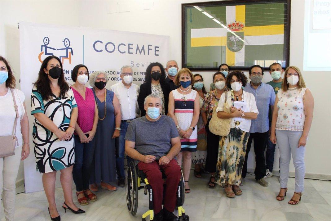 Presentación del proyecto de Cocemfe en materia de juventud y discapacidad para el Aljarafe sevillano