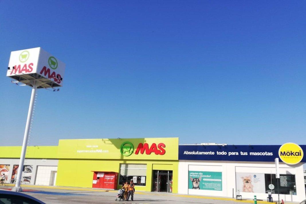 Grupo MAS abre un espacio en Mairena del Aljarafe y uneSupermercados MAS, Mökai mascotas y gastrobar SanTomás.
