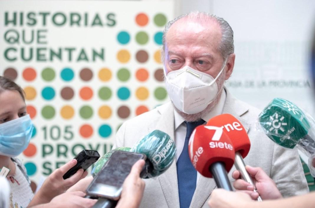 El presidente de la Diputación de Sevilla, Fernando Rodríguez Villalobos - RAQUEL PEREZ ADRADOS