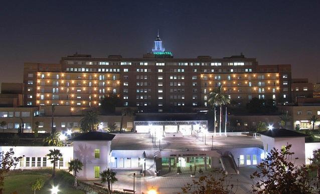Hospital Virgen del Rocío de Sevilla.