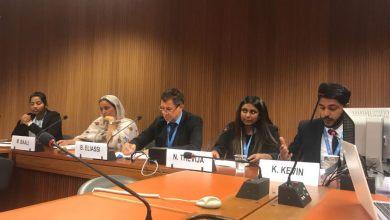 Photo of مجلس حقوق الإنسان بجنيف يناقش حق الشعب الصحراوي في تقرير المصير(فيديو)