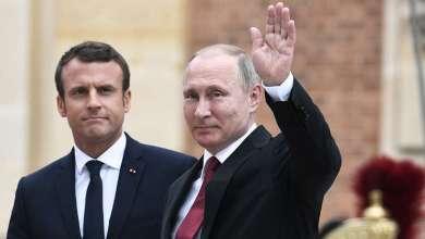 Photo of بوتين يحذر ماكرون من أي أعمال غير مدروسة وخطيرة في سوريا