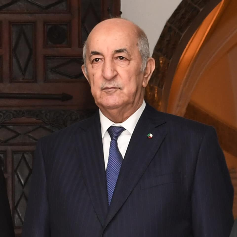 الرئيس عبد المجيد تبون