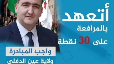 Photo of قبول ملف ترشح قائمة جيل جديد بولاية عين الدفلى