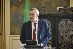البروفيسور عمار بلحيمر، وزير الاتصال