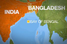 BAY OF BENGAL - MAP