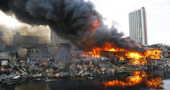 Fire devastates Philippines slum  News  Al Jazeera