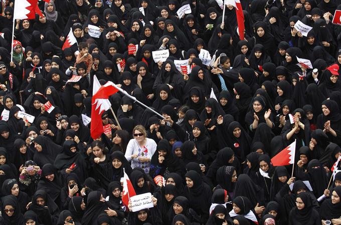 Pro-democracy demonstration in Bahrain