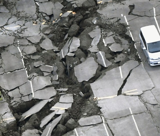 Over 1500 People Have Been Injured 80 Of Them Seriously By The Earthquakes Ap
