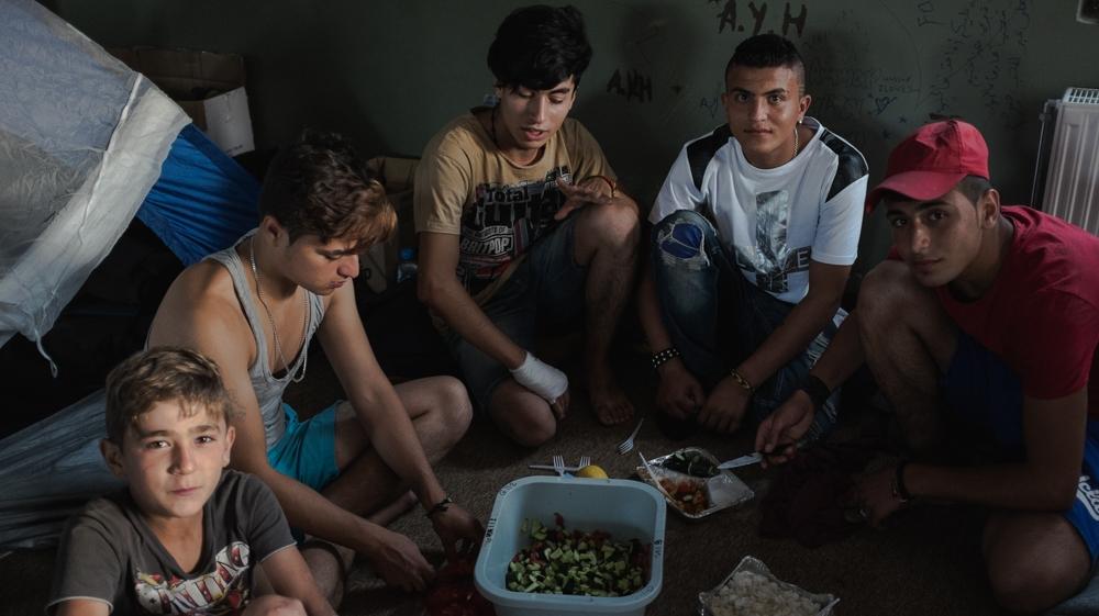 Αποτέλεσμα εικόνας για refugees syrian chios