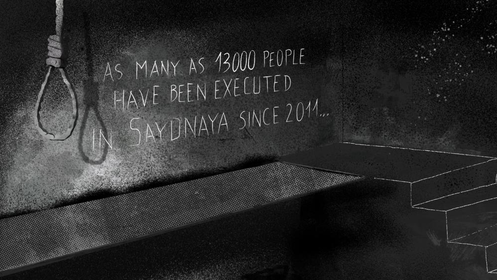 Image result for saydnaya prison