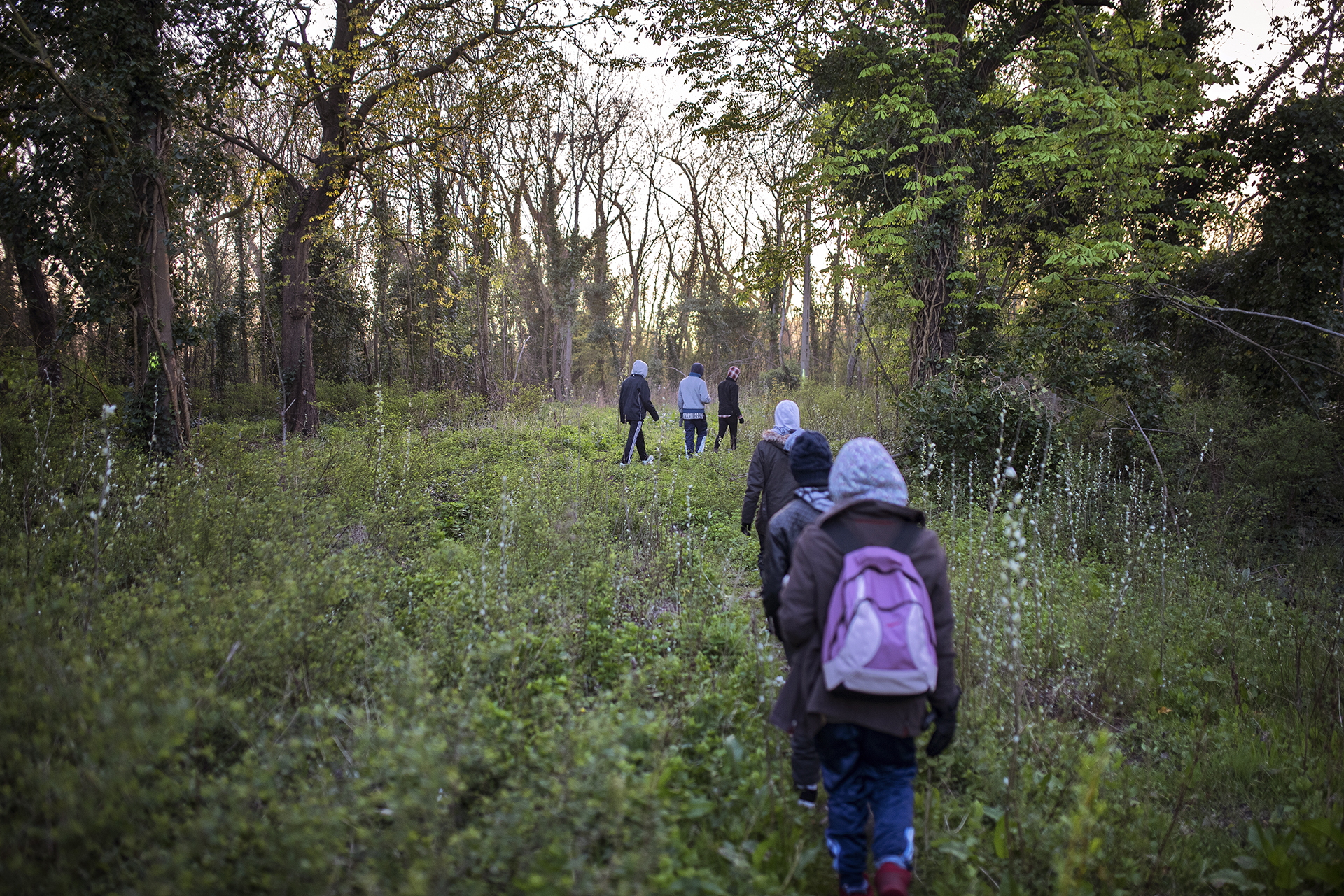 One day in Calais The refugees hiding in the forest