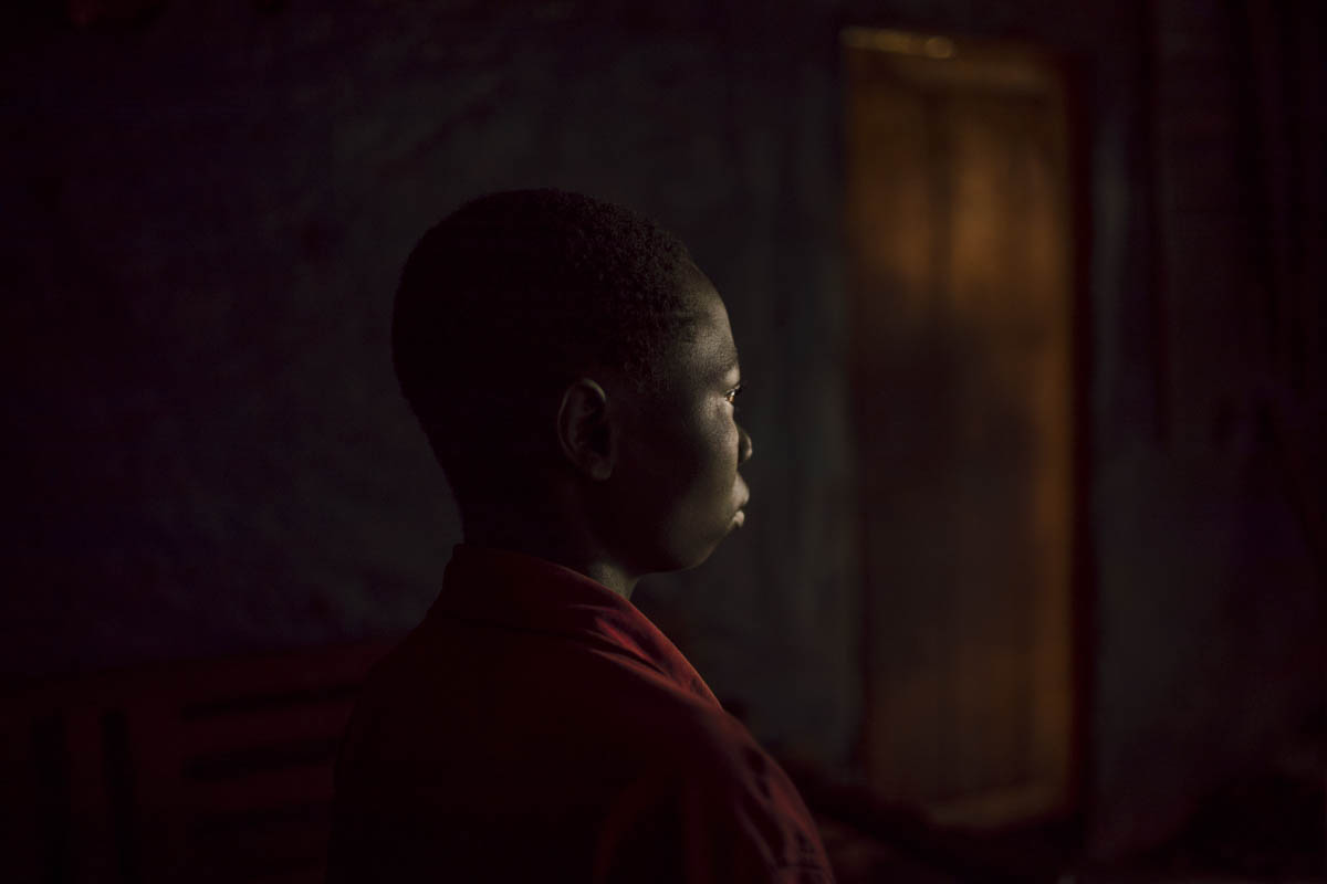 Former child soldier Rukara, 15, remembers the bloodshed he witnessed during brutal battles in North Kivu. Together with his young comrades, Rukara was routinely drugged to remove inhibitions about the deadly attacks they were instructed to take part in. He describes how the older fighters would also often accuse him of wrongdoing, and torture him with punishments when he refused to confess. [Hugh Kinsella Cunningham/Save the Children]