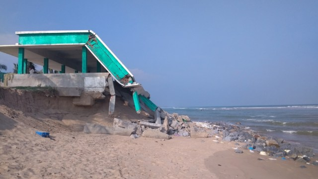 The sea is swallowing homes in east India