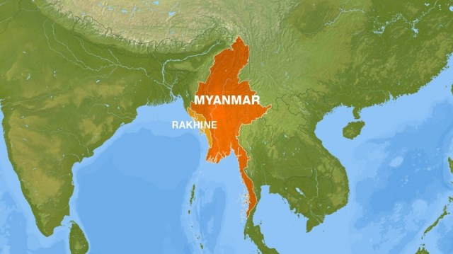 Rakhine State - Map