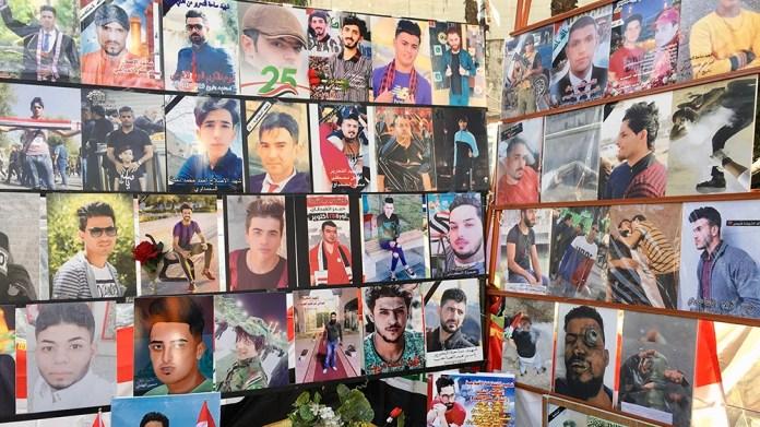 Iraq Protests [Sofia Barbarani/Al Jazeera]