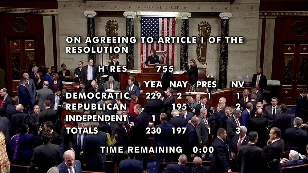 Impeachment vote