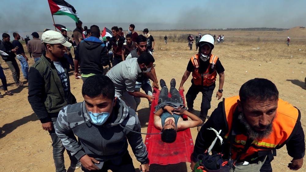 Gaza Friday prtests May 15